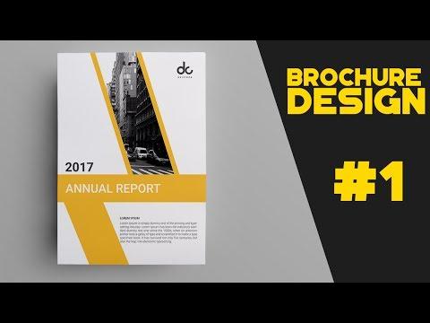 #1 how to design brochure in photoshop cs6  Brochure  DataSheet Design Tutorial