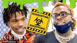 Lil Baby & Gunna Go Quarantine Shopping!