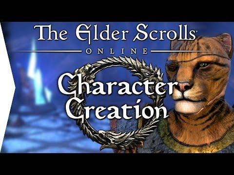 Elder Scrolls Online Beta Collab! ► Intro & Character Creation [ESO Gameplay]