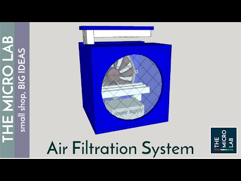 Cube filter - workshop air cleaner