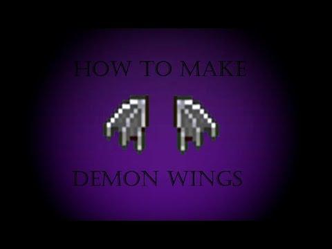 Terraria: How to make Demon Wings