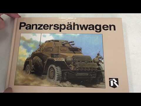 Ryton Publications Panzerspahwagen book, A LOOK INSIDE