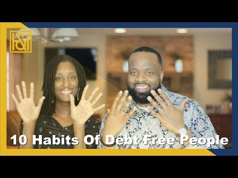 10 Habits of Debt Free People