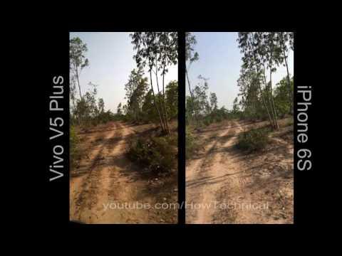iPhone vs Vivo v5 Plus camera 4K Video