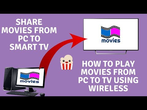 How to Play Movies From PC to TV Using Wireless