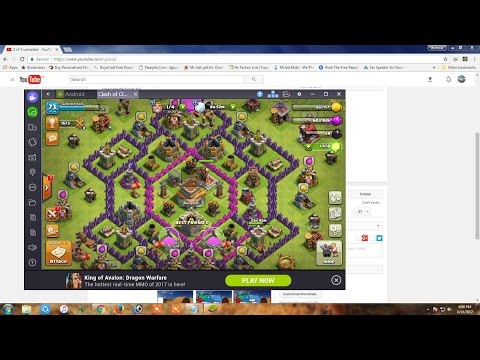 Play clash of clane on your PC
