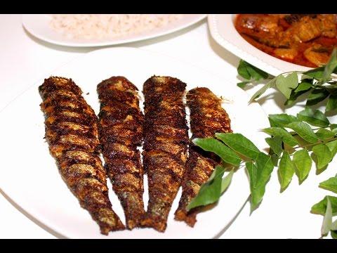 മത്തി/ചാള വറുത്തത്   Mathi Varuthathu   Kerala Style Spicy Sardine Fry   Fish Fry