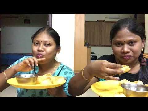 Pani puri challenge with my sister    pani puri challenge in telugu    Family Fun