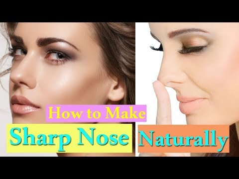 Sharp Nose Exercise | Unbelievable Exercises That Will Help Keep Your Nose in Shape
