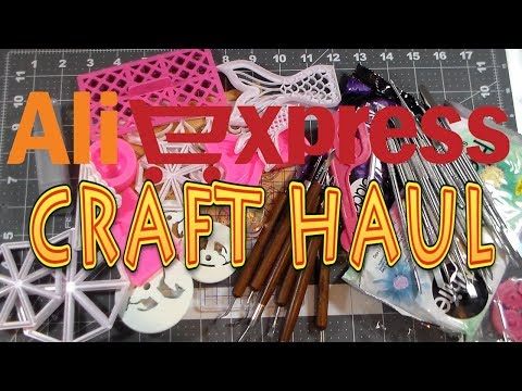 ALIEXPRESS V2 CRAFT HAUL BY Cup n Cakes Gourmet