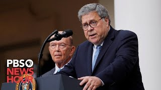 Download WATCH LIVE: House votes on whether to hold Barr and Ross in contempt Video