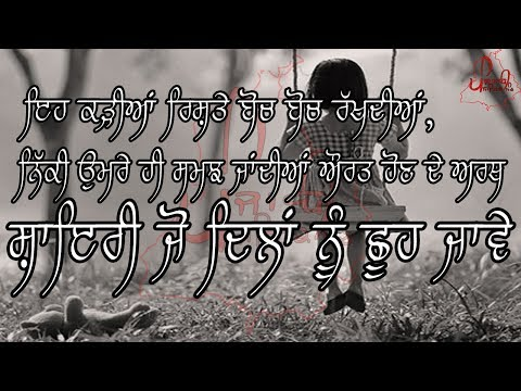 New Motivational Words for Girls | Punjabi Poetry/Shayari/Quotes | Real Life changing Thoughts