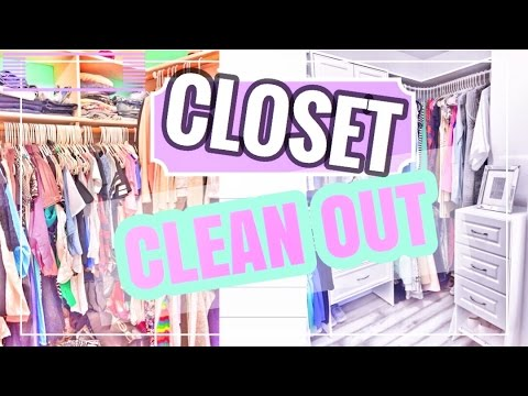 HOW to GET RID of CLOTHES | JUNK