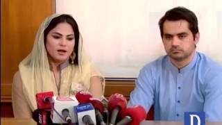 Veena expresses desire of admitting her children to Jamia Binoria