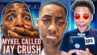 MYKEL TOOK JAY CRUSH FROM HIM !💔 (WONT BELIEVE WHAT HE DID)