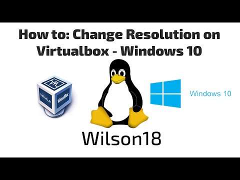 Changing Resolution on Windows 10 VirtualBox [Pro Insider Preview - Build 10074]