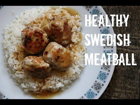 How to make Ikea Swedish meatball healthy option
