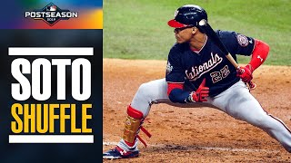 All of the Juan Soto Shuffles from the 2019 Postseason | MLB Highlights