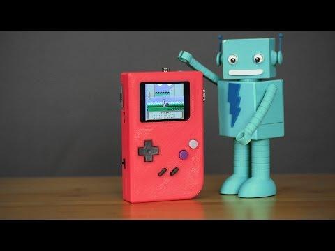 DIY Raspberry Pi Gameboy - 3D Printed