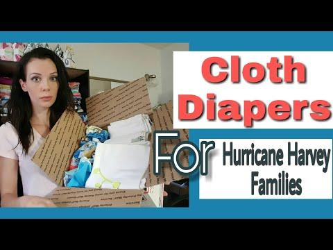 Hurricane Harvey Cloth Diaper Donations