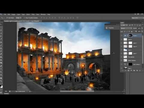 Realistic Light Glowing Effect In Photoshop cs6