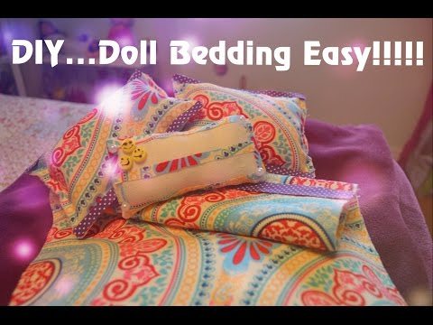 American Girl Doll Bedding ! Easy!