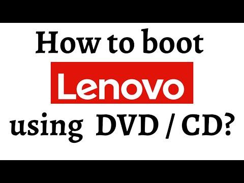How to boot using DVD/CD (Lenovo G50)