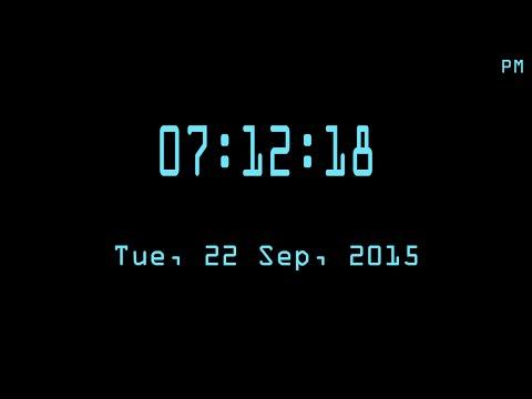 C/C++ Graphics Tutorial 25   How to Make Digital Clock
