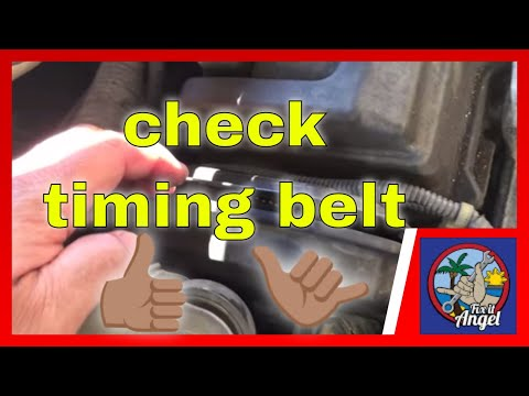 NO START How to check Timing Belt Toyota Camry √