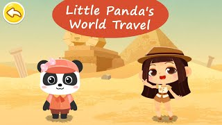 Little Panda's World Travel - Explore the world with little panda! | BabyBus Games For Kids