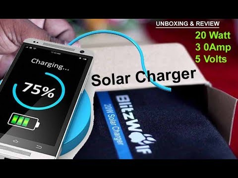 Solar Charger for Smartphone |Tablet | Powerbank | Camera | Blutooth Speaker | Smartwatch etc