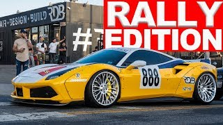 FERRARI GOES ON A RALLY TO MR OLYMPIA, MCLAREN 720S LOST ITS MIND, SUPER LOUD REVVING AVENTADOR..