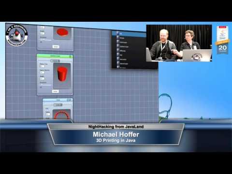 Michael Hoffer on 3D Printing in Java