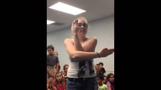Supercalifragilisticexpialidocious Spelling Ashton Elementary Chorus