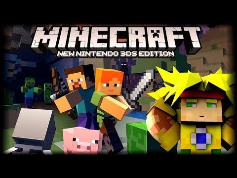 SALIO MINECRAFT PARA LA 3DS - PRIMERAS IMAGENES - GAMEPLAY PRECIO Y MI OPINION