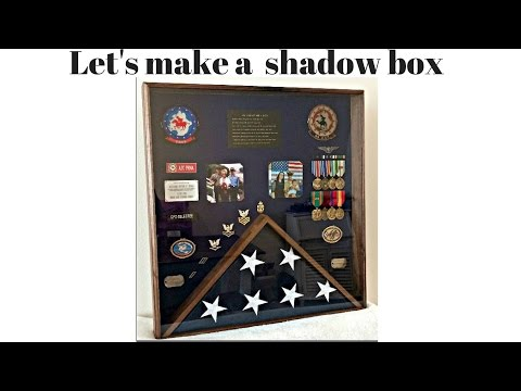 Navy CPO Shadow Box Build