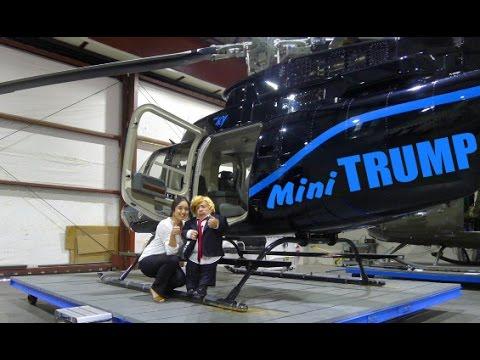 Mini Donald Trump Loves The Ladies!