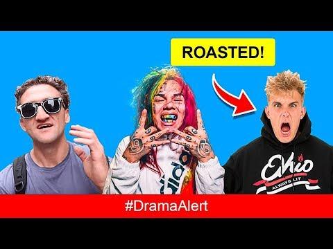 Jake Paul CAUGHT Stealing Content & ROASTED by 6ix9ine #DramaAlert Casey Neistat PREGNANT! KSI, Deji