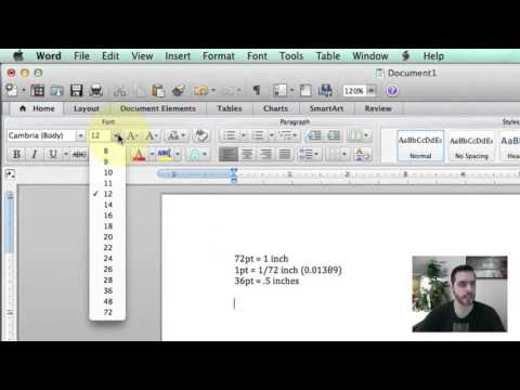 How to Convert Font Size to Inches