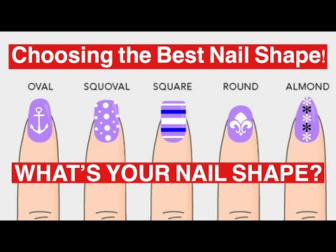 DIFFERENT NAIL SHAPES | BEAUTY TIPS | Dearnatural62