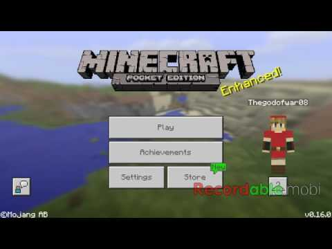 Minecraft pe ep 15 getting wheat seeds