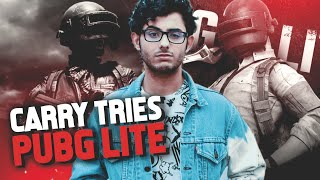 CARRYMINATI PLAYS PUBG LITE | BETTER THAN PUBG MOBILE??