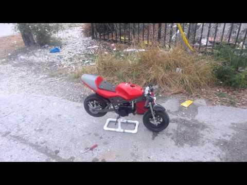 Pocket bike Carb fixed