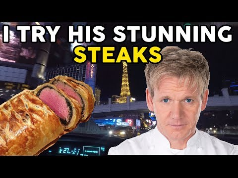 Gordon Ramsay Steak Restaurant at Paris LAS VEGAS!