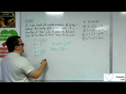 A-Level Maths 2017 Q3-06 [SUVAT: Using the Formulae Example 5]
