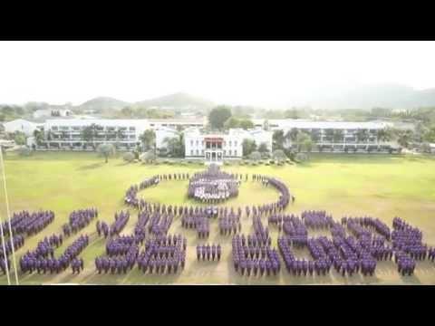 Royal Thai Marine Corps deploy for  Her Royal Highness Princess Maha Chakri Sirindhorn'