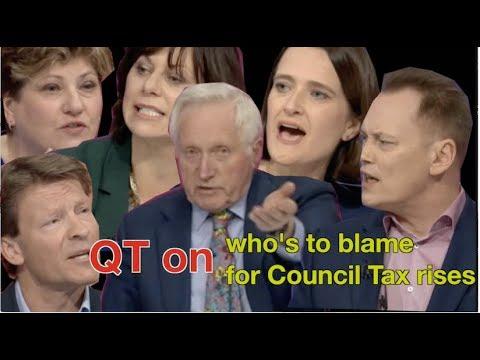 QT on Council Tax rises