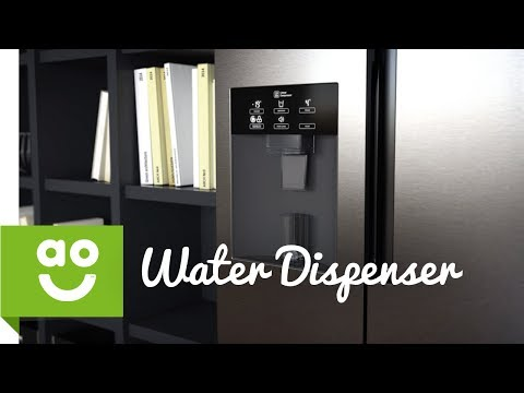 LG Water and Ice Dispenser | American Fridge Freezer | ao.com
