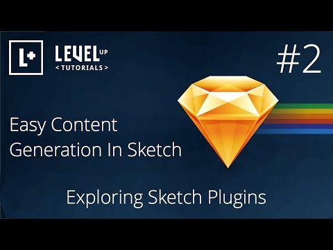 #2 Easy Content Generation In Sketch - Exploring Sketch Plugins