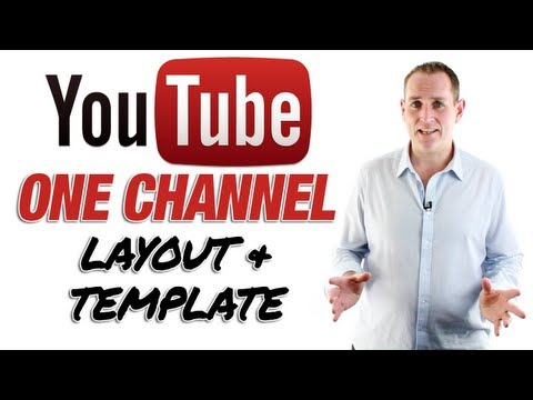 New YouTube One Channel And Free YouTube Channel Template